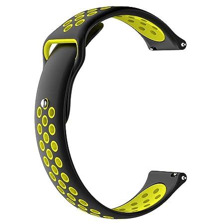 Febelle - Correa de Reloj de Silicona Flexible Compatible con ...