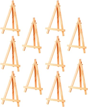 Amaoma Mini Easels Stands Wooden Place Card Holders Table Easel