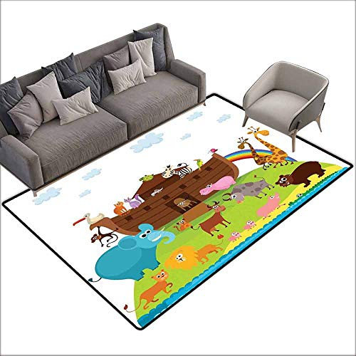 Bath Rug 3D Digital Printing pad Cartoon