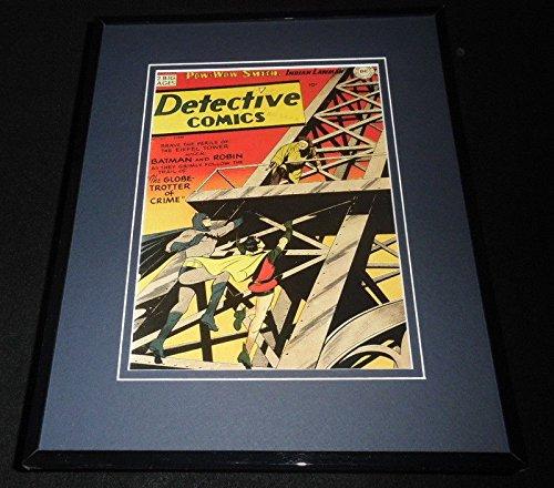 Detective Comics #160 Framed 11x14 Repro Cover Display Batman Eiffel Tower