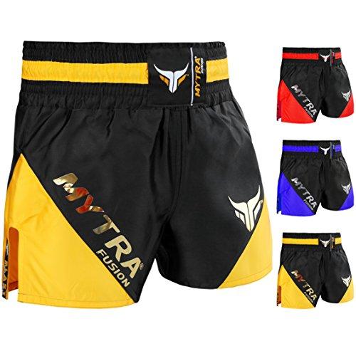 Greenhill Shorts Grappling UFC Kick Boxing Mens Short Muay Thai Fight Gym Wear