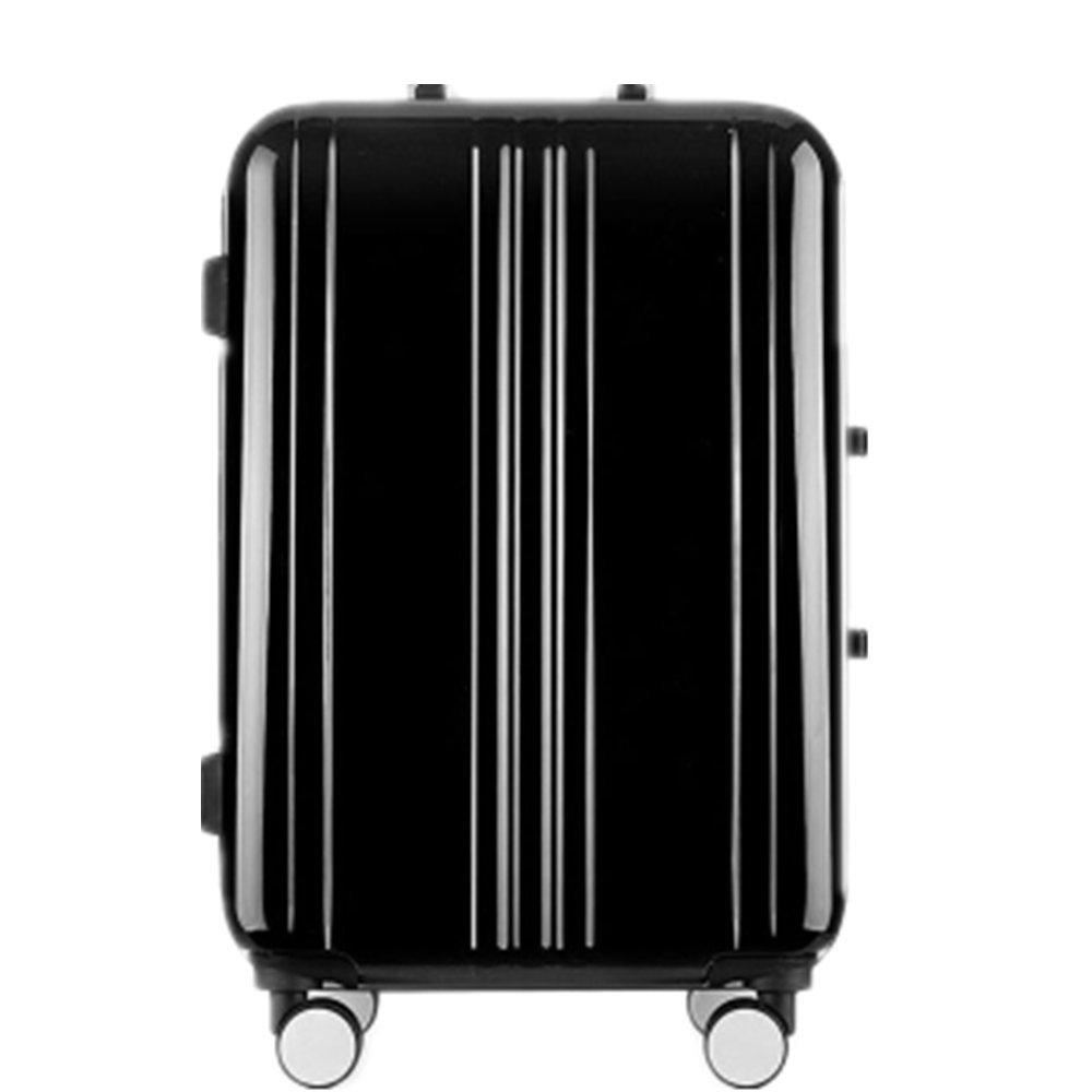 スーツケース アルコアフレームトラベルボックスプルロッドボックスユニバーサルホイールピュアPC防水ボックスアルミ合金トランクトラベルギア (サイズ : 20) B07VFD53P2  20