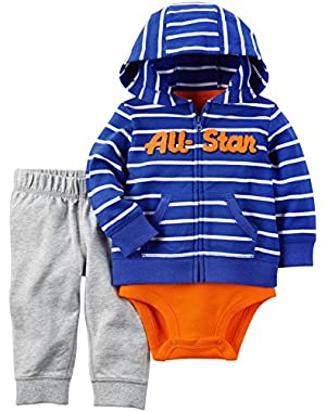 Carter's Baby Boys' 3 Piece All Star Set