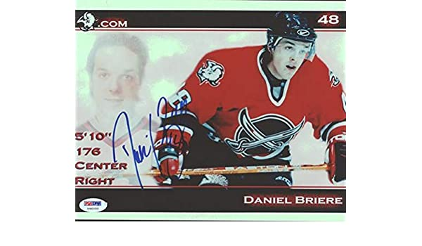 Autographed Daniel Briere Picture - 8x10 Buffalo Sabres  U96050 - PSA DNA  Certified - Autographed NHL Photos at Amazon s Sports Collectibles Store 273fe5308