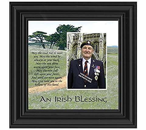 An Irish Blessing, Irish Blessing Picture Frame, May the Road Rise to Meet You, 10x10 6786B