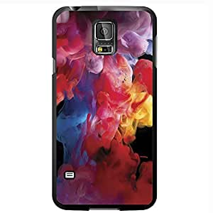 Colorful Smoke Hard Snap on Phone Case (Galaxy s5 V)