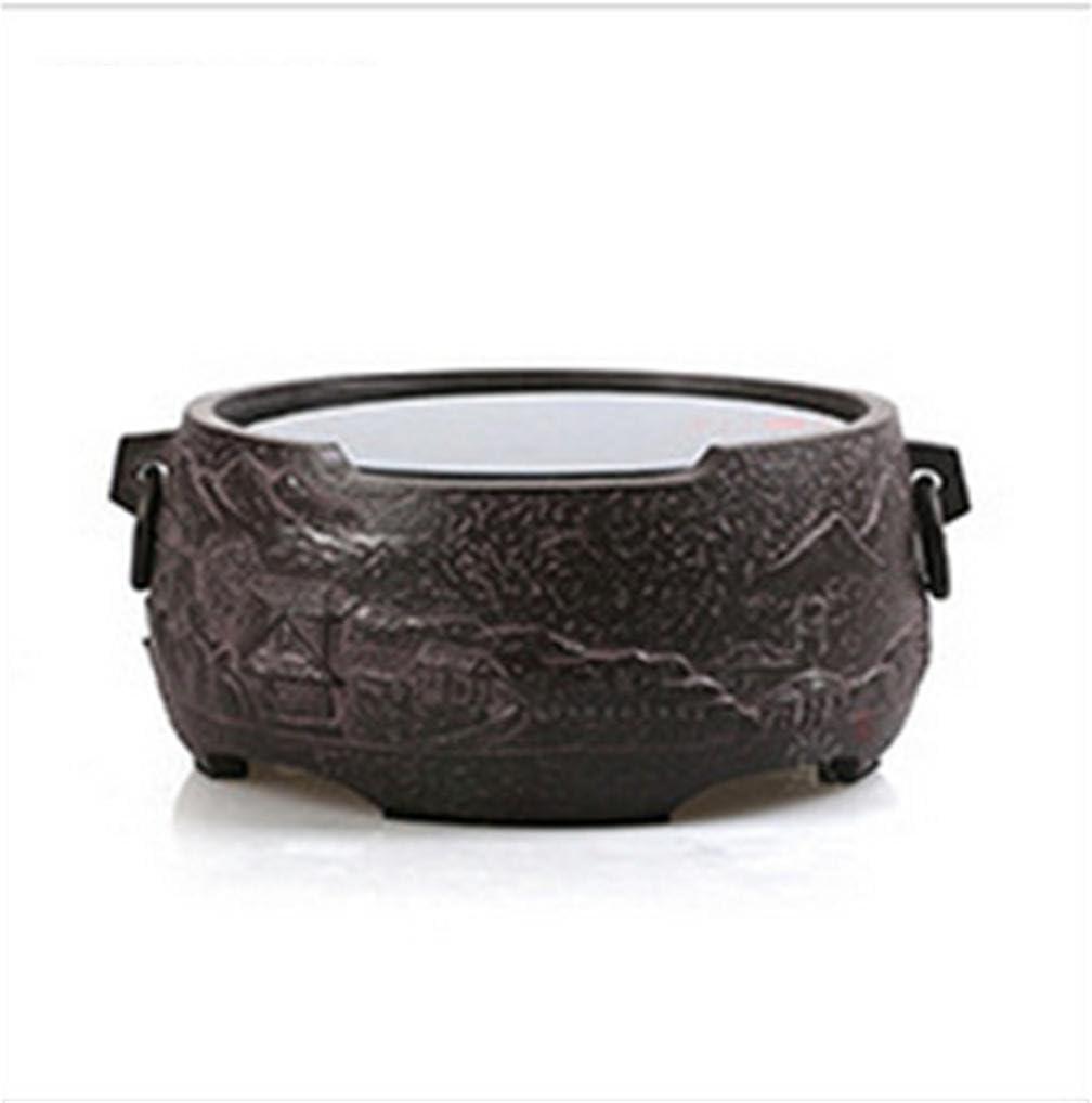 Dedicado tetera eléctrica de cerámica de la estufa vieja de la roca de barro cocido material de té de agua Mini Silencio té bandeja Accesorios