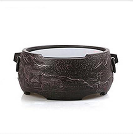 Dedicado tetera eléctrica de cerámica de la estufa vieja de la roca de barro cocido material