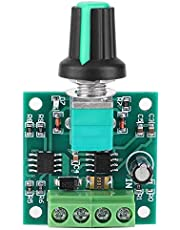 Controlador de Motores, Eléctrico Regulador de Velocidad de Motor PWM de Bajo Voltaje de DC 1.8V-12V 2A, Interruptor de Controlador Ajustable de Regulación de Velocidad Constante