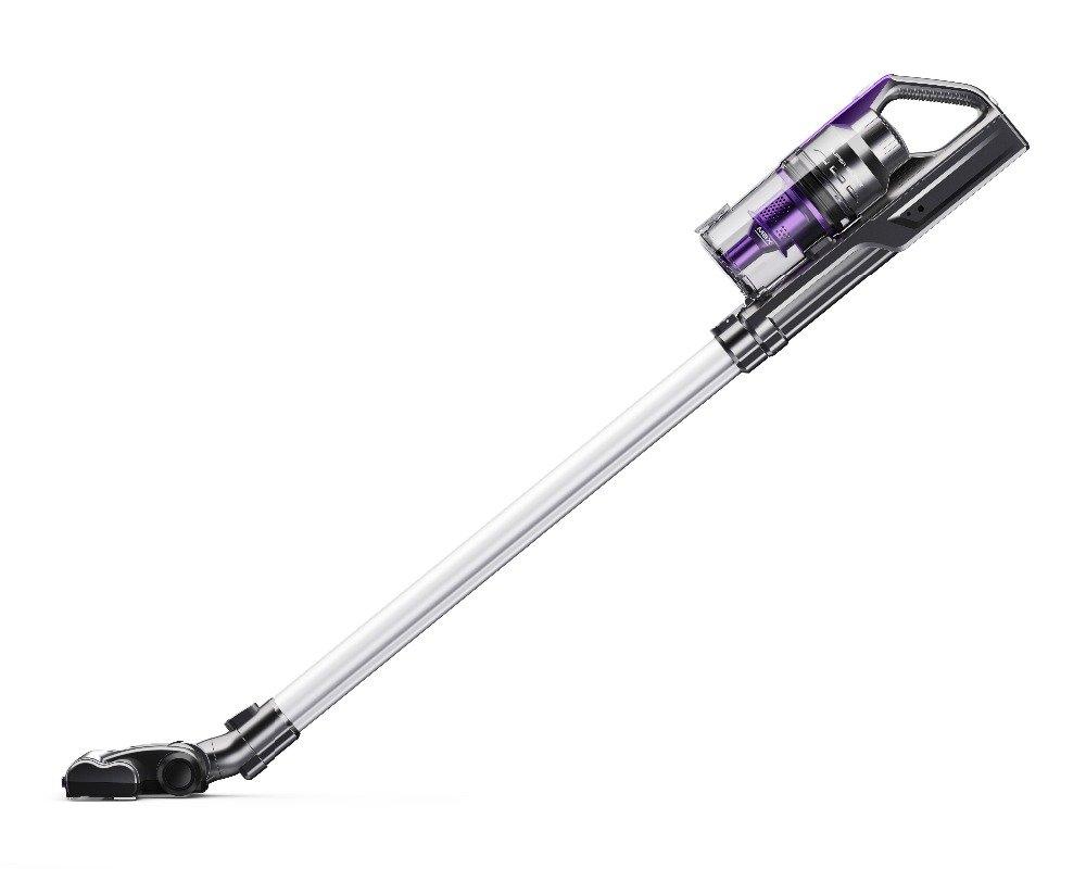Sentovac M-950 2 in 1 22.2V Lithium-ion Cordless Multi-Purpose Upright Stick Handheld Vacuum Cleaner with LED Light in Brush Dark Purple