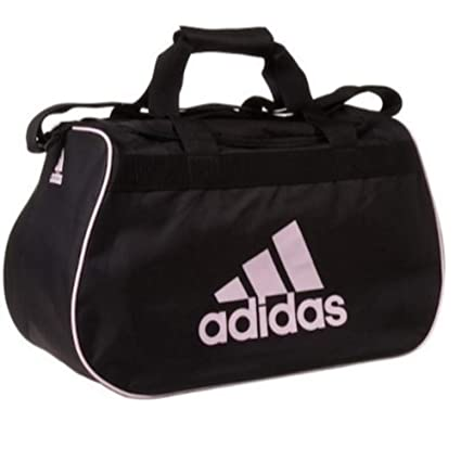 13c1627704 Amazon.com  adidas small diablo duffle black   pink gym bag  Sports    Outdoors