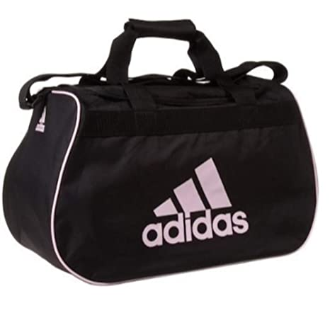 ffaf1ec4618e Amazon.com  adidas small diablo duffle black   pink gym bag  Sports    Outdoors