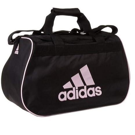 ecc9515ab7 Amazon.com  adidas small diablo duffle black   pink gym bag  Sports    Outdoors