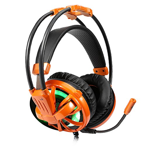iNcool Stereo Gaming Headset, Noise Cancelling Mic Over Ears Gaming Headphones with Microphone by iNcool