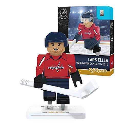 OYO Sports NHL Minifigure Washington Capitals Lars Eller