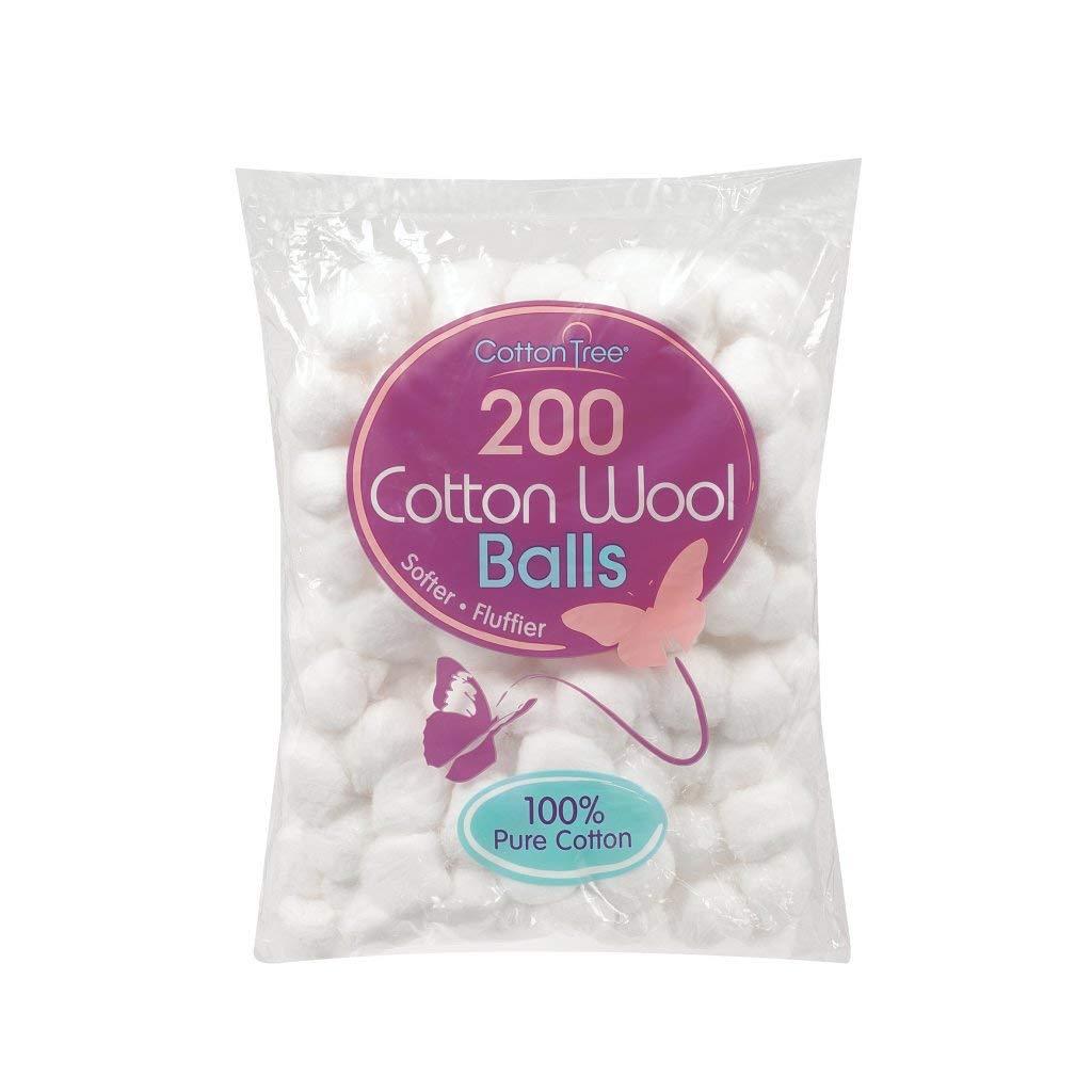 Blanco Algodón Lana Bolas Pack de 200: Amazon.es: Coche y moto