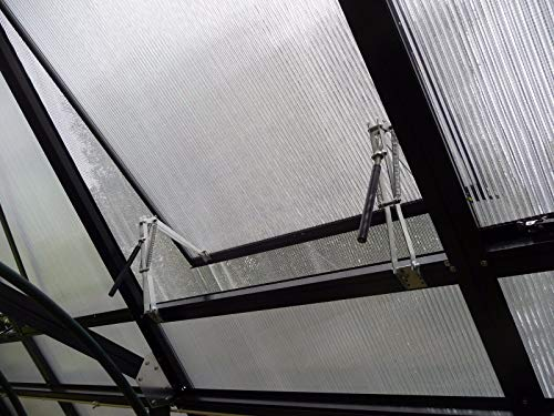 BIBISTORE Solar Auto Ventilation Window Opener with Two Springs for Hothouse Greenhouse Coldframe by BIBISTORE (Image #2)