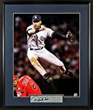 "NY Yankees Derek Jeter ""Turning Two"" 11x14 Photograph (SGA Signature Series) Framed"