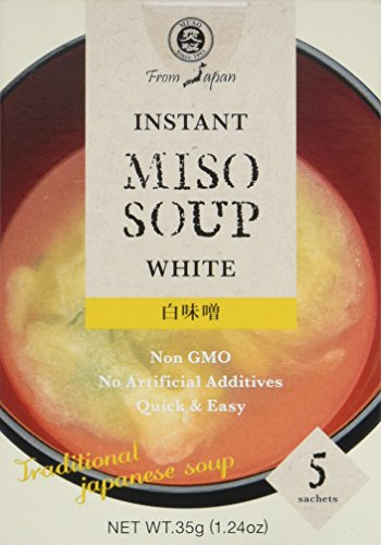 Muso From Japan Instant Miso Soup, White, 1.24 Ounce