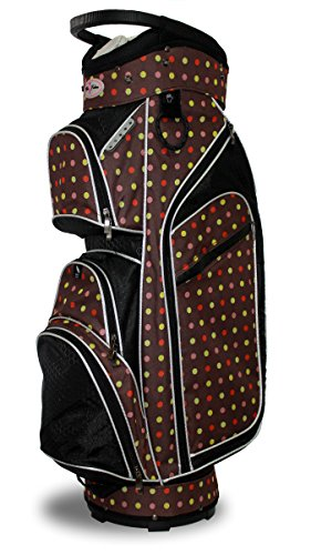 Taboo Fashions Monaco Premium Lightweight Ladies Golf Cart Bag (4 Colors Available) (Eye Candy)