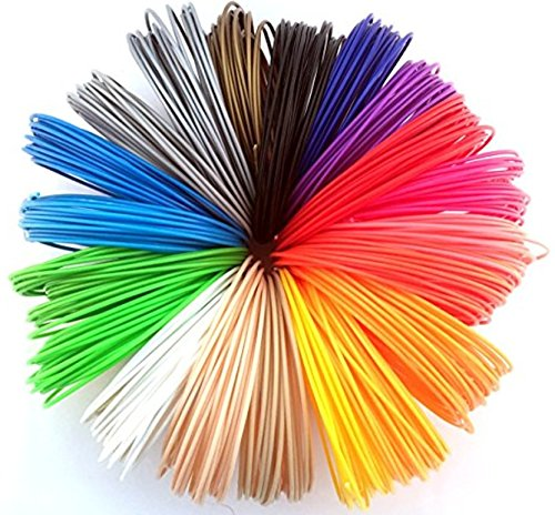 ABS Penultimate3d Pen Filament Multicolours 1.75 21 pc Box 20 colours 688.8 ft