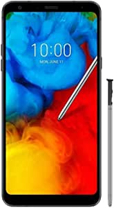 "LG Stylo 4+ GSM Unlocked Android Smartphone with 6.2"" FullVision Display, Stylus Pen, 3D Surround Sound, Fingerprint ID - Black"