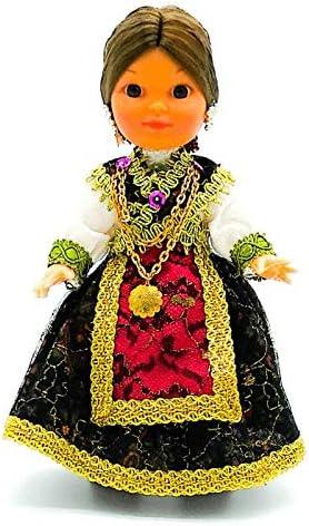 Amazon.es: Folk Artesanía Muñeca Regional colección de 25 cm con Vestido típico Zamorana (Zamora) España.: Juguetes y juegos