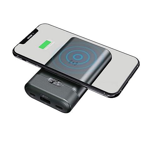 MYYINGELE Power Bank Wireless 10000mAh Cargador Móvil ...
