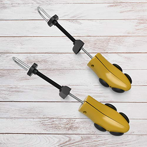 Home Bluestone Stretcher-2 Way Expander Adjusts Width, Length-Includes 8 Bunion, 2 Pad High Plugs-Shoe Comfort for Men and Women - 3 Stretcher Pad Inch