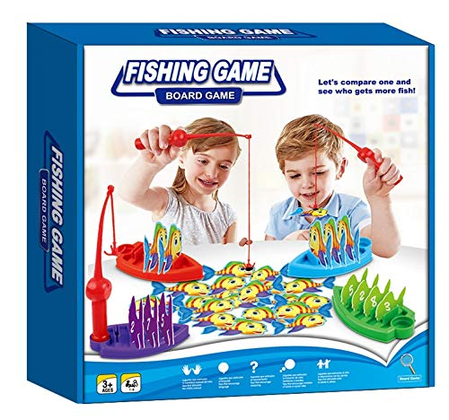 NEO+- Fishing and Winning Game of Skill and Strategy, Multicolour Toys 5094