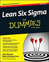 Lean Six Sigma For Dummies, 3rd Edition Front Cover