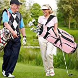 Tangkula Complete Golf Clubs Package Set 10 Pieces