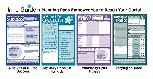 innerguide planners daily checklist for kids daily tear off