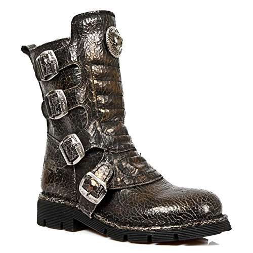 Sales Outlet Comfort Rock 1471 Men Light Light New Leather Size M 38 Comfort Brown S22 AR77qPx