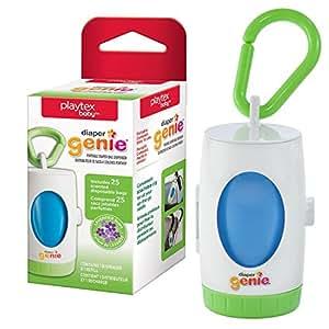 Playtex Baby Diaper Genie Portable Diaper Pail Bag Dispenser