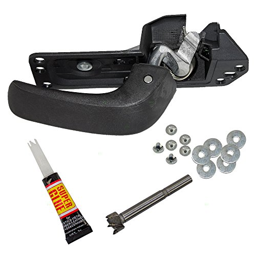 BROCK Drivers Inside Door Handle Repair Kit for 07-13 Silverado Sierra 14 2500/3500 Pickup Truck (EXCLUDING SLT/LTZ) 15936893 20833606 20871488