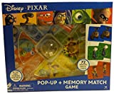 Disney Pixar Pop Up and Match Game Featuring: Wall - E, Cars, Toy Story, Ratatouille, Monsters, The Incredibles