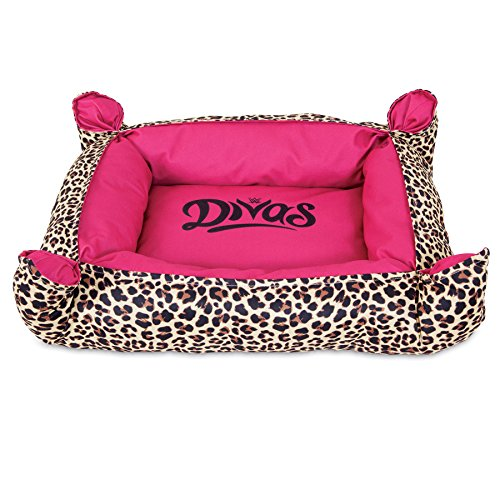 WWE Divas Pinch Corner Bolster Dog Bed