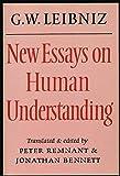 """New Essays on """"Human Understanding"""", Leibniz, Gottfried Wilhelm, 0521298369"""
