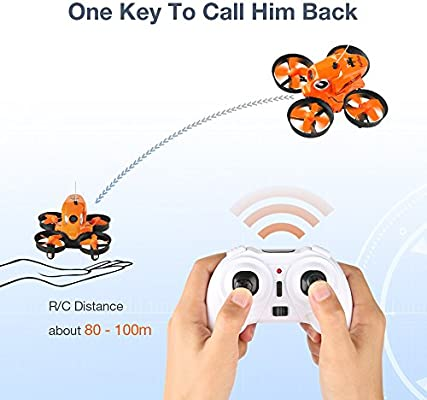 Furibee H801 Mini Drone con cámara WiFi FPV 2MP 720P, One Key Take ...