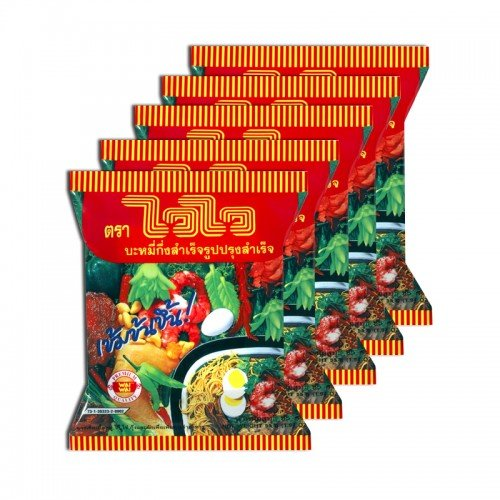 Wai Wai Oriental Style Instant Noodle 55 g. Pack 5