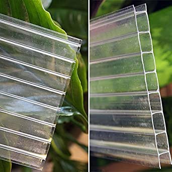 Easy Ship 8mm Clear Twinwall Polycarbonate 2 Wide X 6