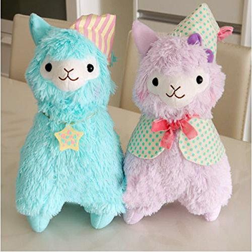 Amazon.com: 35cm Brinquedo Good Night Alpaca Toy Dolls Adorable Fluffy Japanese Alpacasso Plush Toys Peluches Animals Alpaca Vicugna Pacos: Baby