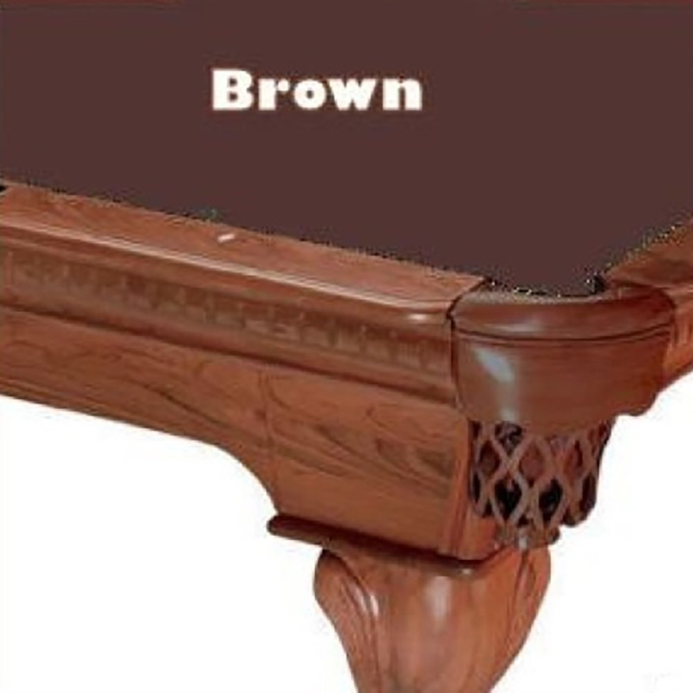 Prolineクラシック303テフロンビリヤードPool Table Clothフェルト B00D37ID92 Table 7 7 ft.|ブラウン ブラウン 7 7 ft., ヤマノライス:4f9a80bf --- m2cweb.com