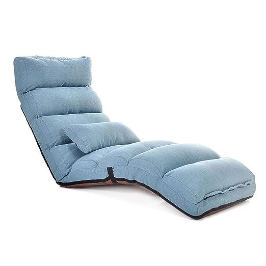 MinMin Silla de Piso Ajustable con Respaldo de Apoyo, cómodo ...