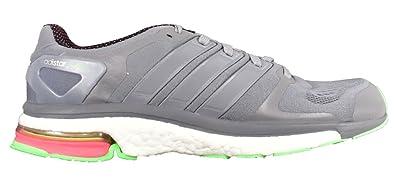 buy online f2be5 15758 adidas Mens B44142 Adistar Boost M Chill Shoes, Grey, 7.5