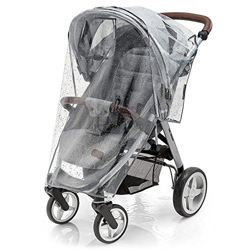 Zamboo Universele Regenhoes voor Kinderwagen, Wandelwagen en Buggy – Met Raampje en Ventilatieopeningen – Eenvoudige…