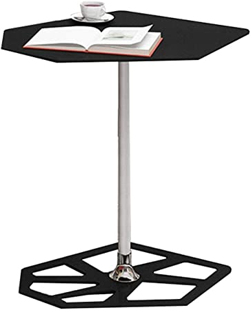 Anuey Table Basse Hexagonale Cadre En Métal Simple Salon