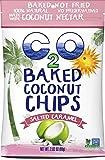 C2O Baked Coconut Chips, Salted Caramel, 2.9 Oz (Pack of 12)