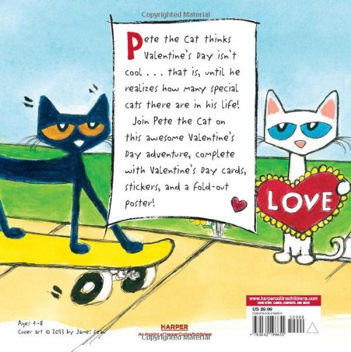 Large Product Image of Pete the Cat: Valentine's Day Is Cool